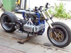 Кастом MotoCopter на базе Honda GL1500