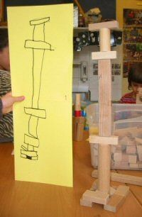 Classroom Block Area can include drawing & digital photography to document student work (Via techniekinjeklas) Reggio Emilia, Stem Activities, Classroom Activities, Learning Activities, Block Center, Block Area, Play Based Learning, Learning Centers, Block Play