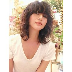Fresh Hair, Mid Length Hair, Hair Reference, About Hair, Shaggy, Cut And Style, Pretty Hairstyles, Hair Lengths, Curls