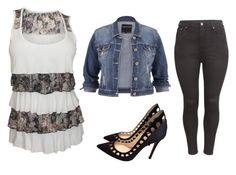"""""""Floral Casual"""" by jem91 on Polyvore featuring maurices, H&M and Gianvito Rossi"""