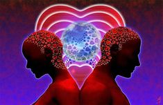 twin flame telepathic connection