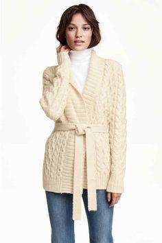 Casaco de malha com lã | H&M