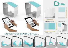 Morpholio Project's Inside2015 Awards Emerging Designers | Jury Winner, Emerging Talents: Organic Pod by Vishwaraj Nikumbh. #design #interiordesign #interiordesignmagazine #morpholio #seating #pod @nikumbh24