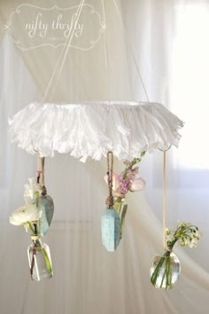 Cute idea to do with clothes hangers! Think I need to put some thought together for my chicken coop!