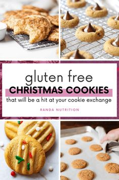 Are you looking for gluten free Christmas cookies for your holiday cookie exchange? I put together a list of the best wheat-free holdiay cookies.