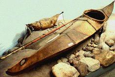 Gallery For > Inuit Kayak