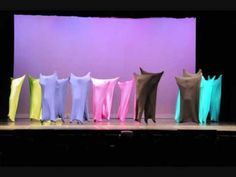 Here's the silly color blob dance I choreographed for my Senior Showcase/Thesis. We also got to share it at the UNC Dance Alliance spring show ahead of time. High School Teen, Samba Costume, Unique Costumes, Lip Sync, Talent Show, Extended Play, Hobbies And Crafts, 30th Birthday, Mind Blown