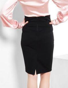 Como hacer una falda de corte hasta la cintura03