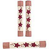 Star Oven and Refrigerator Handle Covers - Set of 3