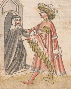 Die Pluemen der Tugent, Vintler, Hans, -1419 1. Hälfte 15. Jhdt.  Cod. Ser. n. 12819 Han  Folio 244