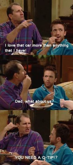 Funny pictures about Al Bundy always was a rolemodel. Oh, and cool pics about Al Bundy always was a rolemodel. Also, Al Bundy always was a rolemodel. Funny Pictures With Captions, Funny Animal Pictures, Funny Images, Top Funny, Funny Posts, Hilarious, Al Bundy, Peggy Bundy, Married With Children