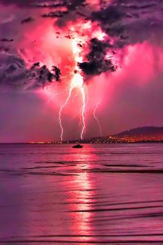 Pink skies meet Pink water By Cane Jason