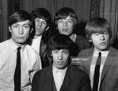 British rhythm and blues group The Rolling Stones, from left to right; Charlie Watts, Keith Richards, Bill Wyman (front), Mick Jagger and Brian Jones - Rock And Roll, The Rock, The Rolling Stones, Mick Jagger, Bbc News, Best Classic Rock Songs, Bill Wyman, Rollin Stones, The Yardbirds