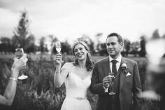 Fun Filled Peachy Country Barn DIY Wedding http://binkynixon.com/
