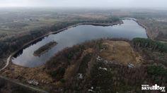 Schnell noch das #Ottermeer in #Wiesmoor besucht! #Ostfriesland #Luftaufnahmen #Aurich