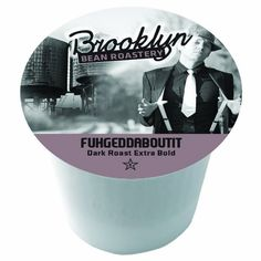 Brooklyn Beans Fuggedaboudit Coffee Single-cup coffee for Keurig K-Cup Brewers for Keurig Brewers, 40 Count - http://thecoffeepod.biz/brooklyn-beans-fuggedaboudit-coffee-single-cup-coffee-for-keurig-k-cup-brewers-for-keurig-brewers-40-count/