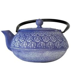 Wal-Mart has $45! I got at Marshall's for $16!  Japanese Blue Floral Cast Iron Teapot - Walmart.com
