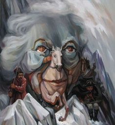 "Illusion: ""More than meets the eye,"" seems like the right slogan for Oleg Shuplyak's fine art. Warning: This post may contain images with nudity. Viewer discretion is advised. Artwork © Oleg Shuplyak Link via Inspix. http://illusion.scene360.com/art/23649/optical-illusion-paintings/"