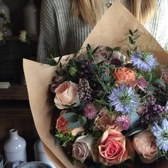 A Saturday bunch for a quite extraordinary lady.