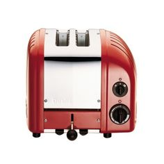 Dualit® Red Two-Slice Toaster | Sur La Table
