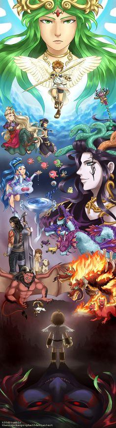 Kid Icarus 30th by theunspokenprophet.deviantart.com on @DeviantArt