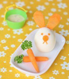 Easter Egg Bunny Snack DIY