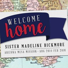 printed welcome home banner 2x3 with grommets lds homecoming poster deployment poster welcomehome missionary ldsmission pinterest banners