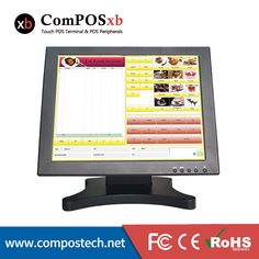 Hight Quality 15 Inch LCD 1024*768 Touch Screen Computer Display Monitor For Desktop #Affiliate