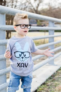 Mens Short-Sleeve Crewneck T-Shirt,Fashion 3D Graphic,Black and White Easter Rabbits and Eggs for Youth