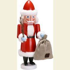 Nutcracker Santa with bag  -  38cm / 15 inches
