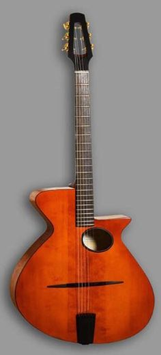 "Eastman guitar ""Gitane Nouveaux"" designed by Claudio and Claudia Pagelli."