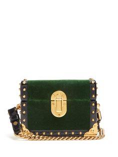 Click here to buy Prada Treasure Trunk mini velvet box bag at  MATCHESFASHION.COM Box 2fe99b577bec2
