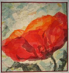 """Poppy"", 22.25 x 21.5"" by Erika G. Carter,"