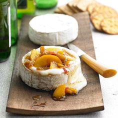 This Grilled Cedar-Planked Brie is an easy and sophisticated appetizer. More gilled appetizers: http://www.bhg.com/recipes/grilling/grilled-appetizers/?socsrc=bhgpin081513brie=2
