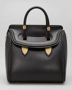 Alexander McQueen Heroine Medium Satchel Bag