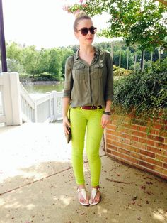 HOW TO WEAR NEON INTO FALL