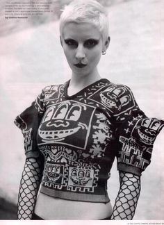 Vivianne Westwood Graphic print with punk street edge mixed w/ high fashion