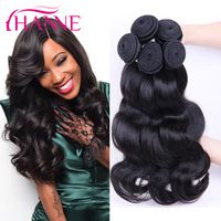 Brazilian Body Wave Virgin Hair 6A Affordable Thick Bundle Human Hair Extensions 4Pcs Mink Brazilian Hair Body Wave Wet and Wavy