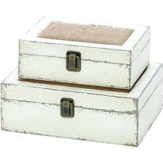 2-Piece Hamptons Trinket Box Set  at Joss and Main