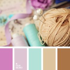 Tri-color combination of cold and warm shades. The Browns are the focus, and cold gamma support its warmth. Pastel colors create a very romantic mood at home. In general, this range is set on a nice warm evening with beautiful music and fresh coffee.