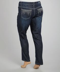 Take a look at this Victory Skinny Jeans - Plus by Royal Premium on #zulily today!