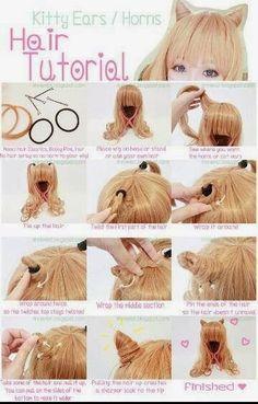 Tutorials For Ladies Hair Styles...