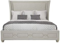 Bernhardt Furniture | Criteria Collection | 363 Upholstered Bed | MacQueen Home