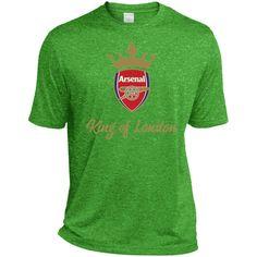 The Gunners King Of London ST360 Sport-Tek Heather Dri-Fit Moisture-Wicking T-Shirt