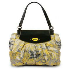 "*Miche Canada* The Heart Shells feature yellow & black inspirational quotes on a silver faux leather background. The ultra-chic ""grafitti"" design is a Miche original! This captivating Shell is sure to be a conversation starter. Miche Canada is proud to offer the Hope Shell collection. With each Hope Shell sold, a portion of the proceeds is donated to charity."