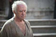 """Another new face in the realm. Behold Jonathan Pryce as the High Sparrow. #GoTSeason5"""