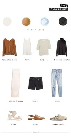 fall wardrobe challenge: 10 pieces, 10 outfits, 10 days