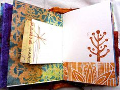Ro Bruhn - pages in one of my journals