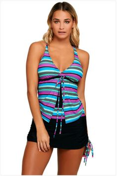 Ladies-bikini-set-sexy-swimwear-women-s-Tankini-swimsuit-Bathing-suit-beachwear