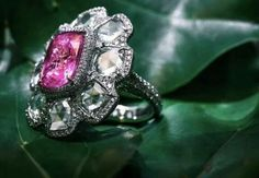 Forms Jewellery Pink Ghita Rosie Ring